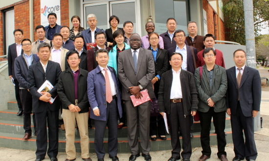 Delegation from China visits Core Community Services