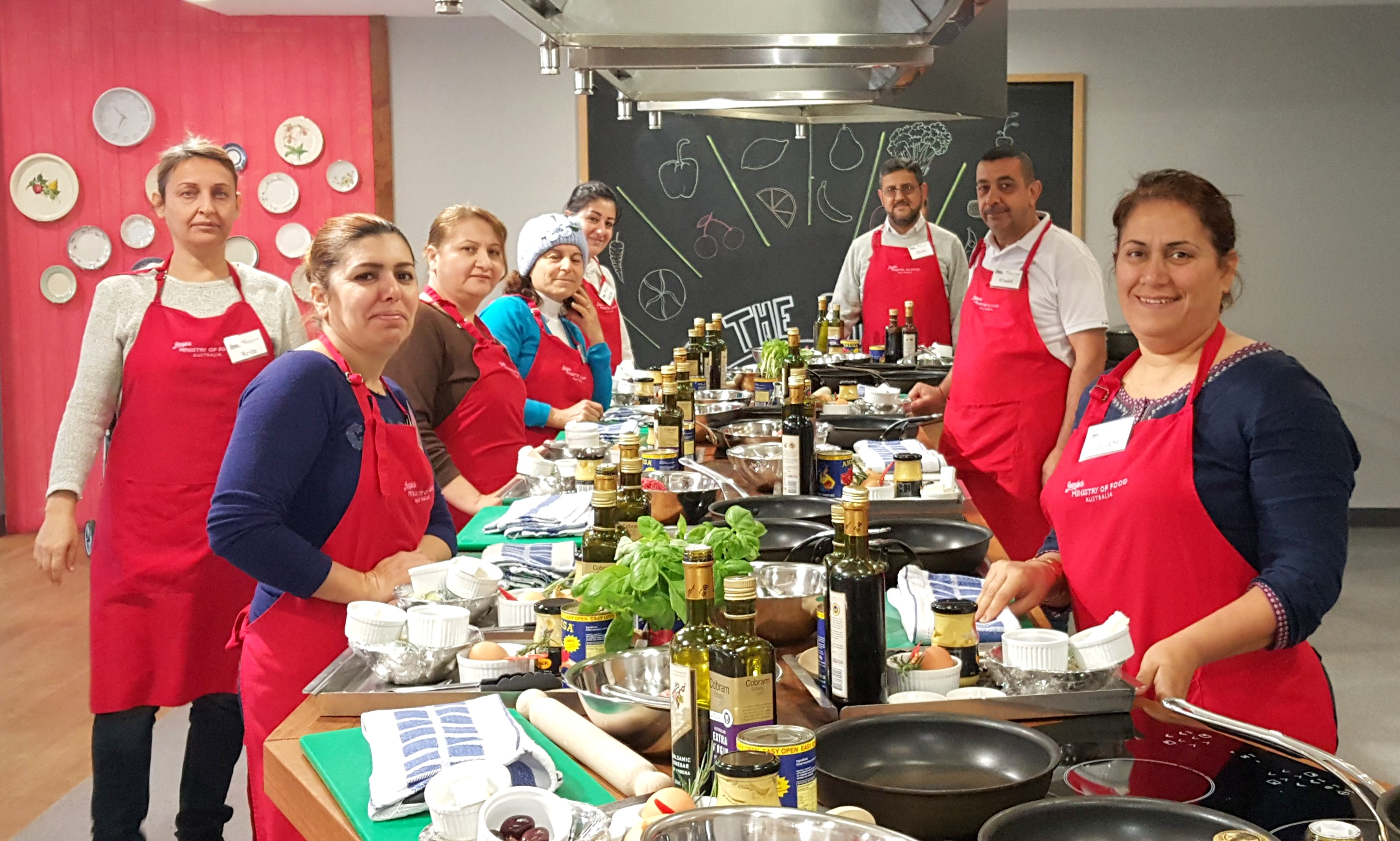 Cooking classes at Jamie's Ministry of Food