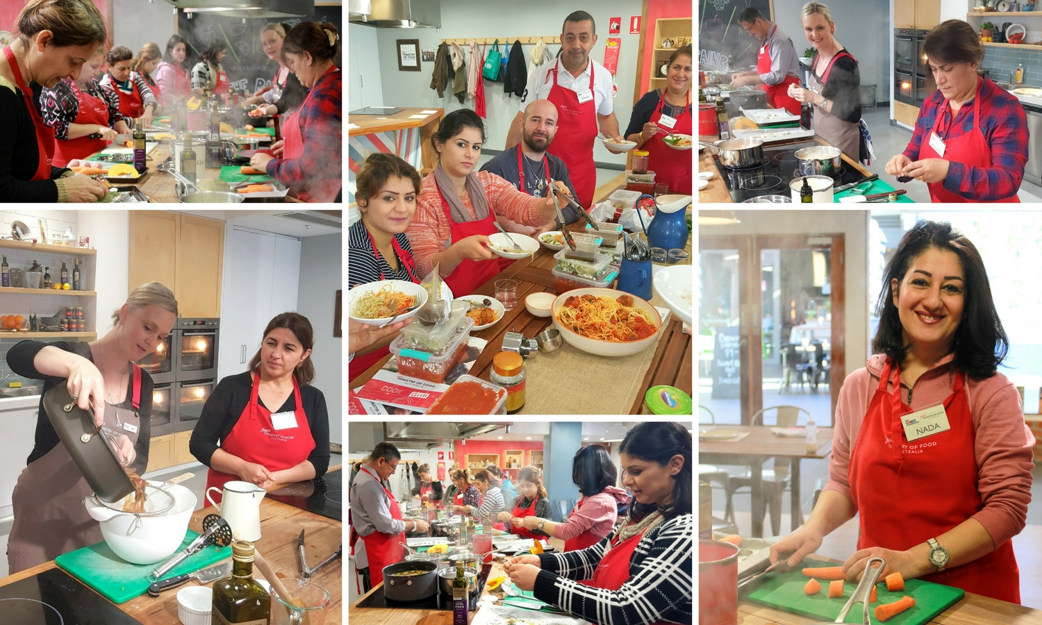 Cooking classes at Jamie's Ministry of Food Wetherill Park