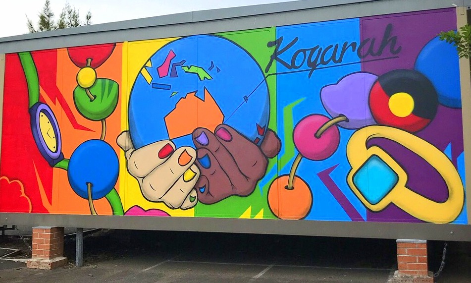 New mural at Kogarah High School