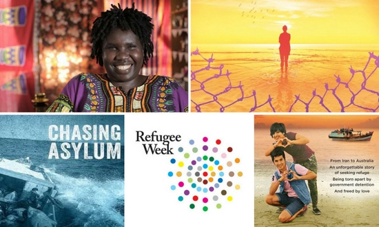 Refugee Week collage for NSW Settlement Partnership