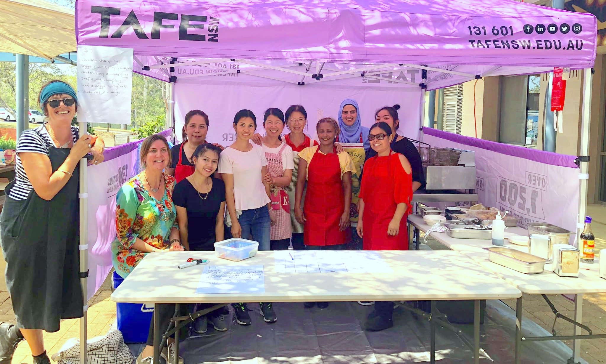 Manning Valley Neighbourhood Services' 'Learn how to run your own food stall'