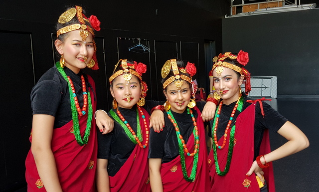ADS's Nepalese Cultural Dance Group